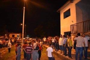 demostracion de poder politico en santani, departamento de san pedro FB Santani Noticias en linea
