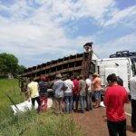 grave accidente cruce Vy'a Renda, distrito de Yrybucua San Pedro