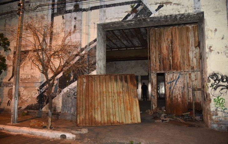 uno de los depositos de la ex Cerveceria Paraguaya DIARIO UH
