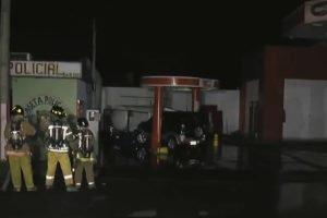 accidente fuga de gas estacion de servicios TF