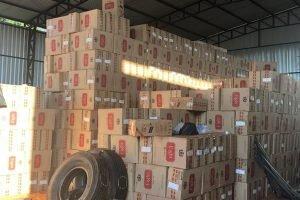 cajas cigarrillos eight tabesa carga de contrabando