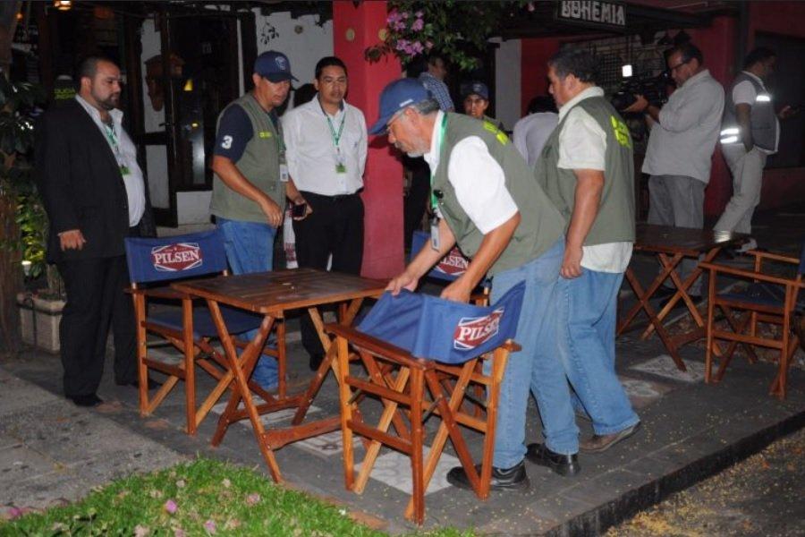 ley ordenanza consumo de bebidas en la via publica veredas locales comerciales asuncion