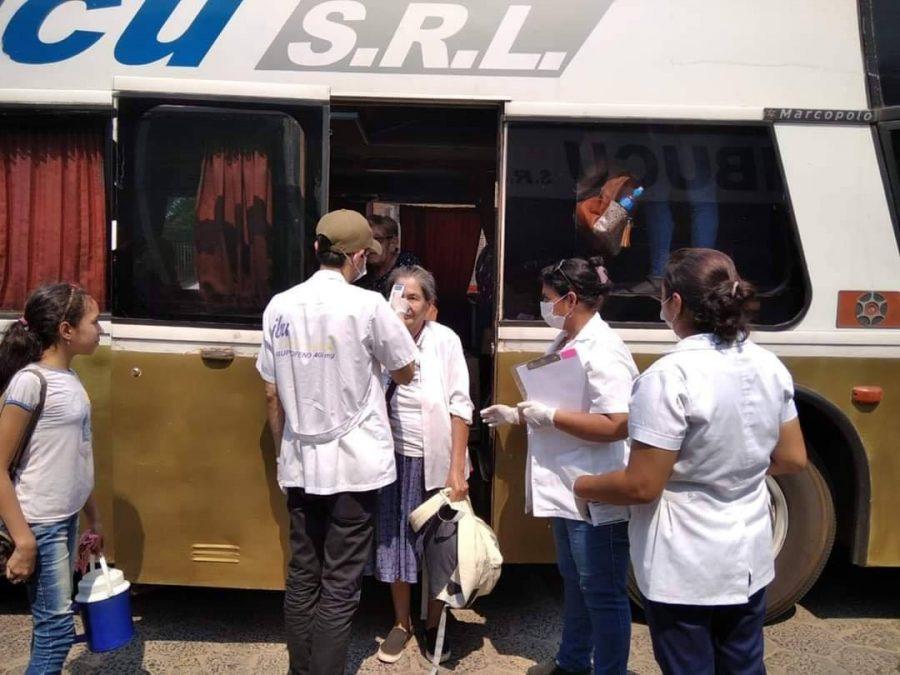 Pilar suspende el ingreso y salida de buses de pasajeros
