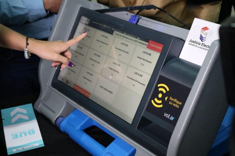 maquina de votacion TSJE