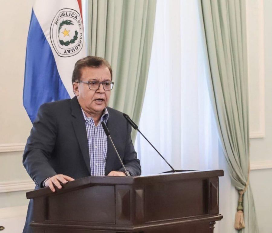 Nicanor Duarte Frutos Entidad Binacional Yacyretá tw presid