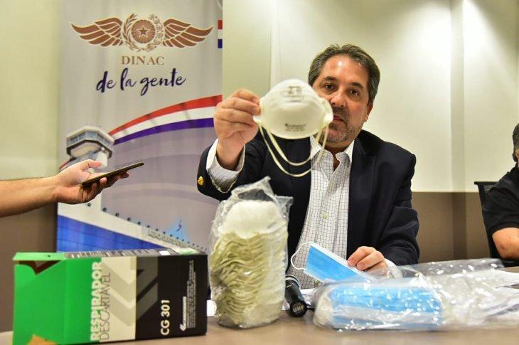 Caso Dinac: Fiscalía investiga cómo pretendían ocultar el origen de las mascarillas