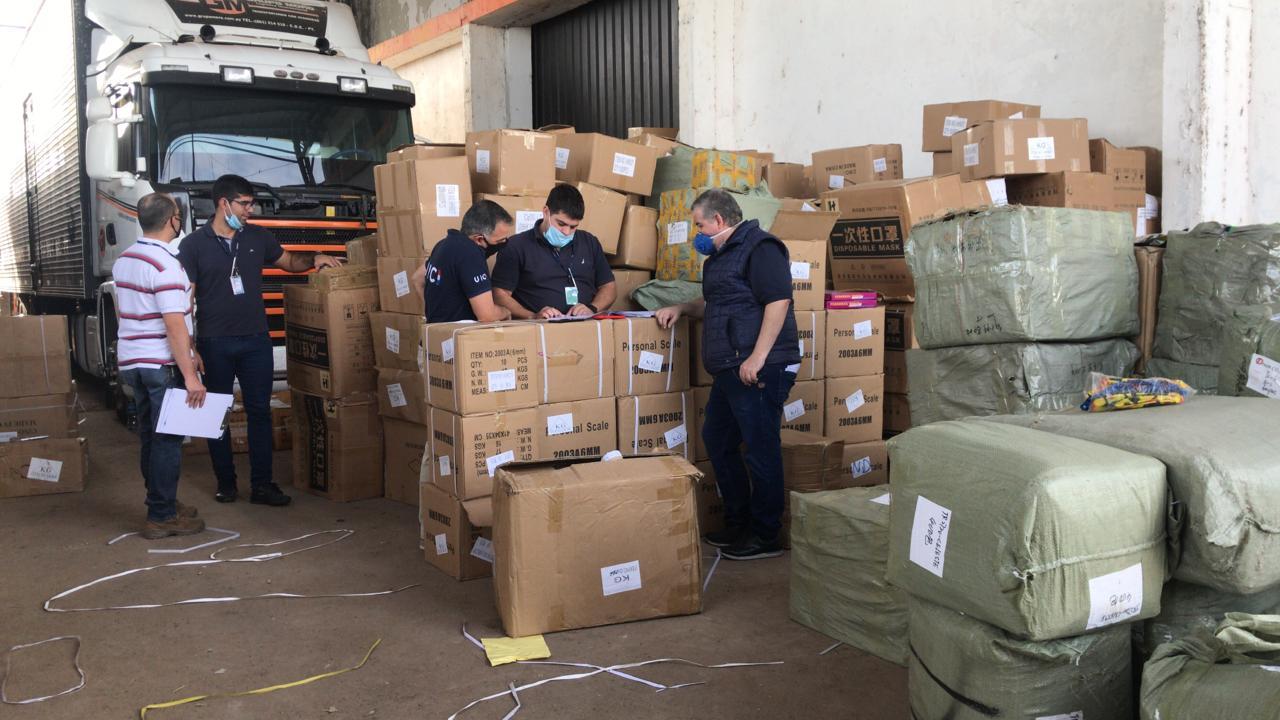 Incautan insumos médicos que habrían ingresado de contrabando