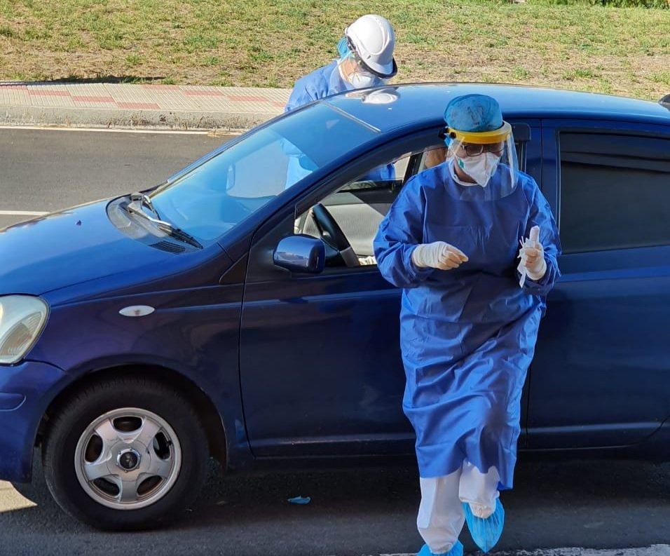 salud toma test prueba coronavirus paraguay tw jc portillo