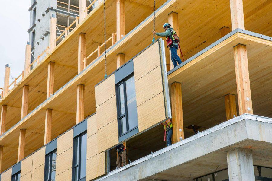 La madera empieza a ganar terreno en la construcción