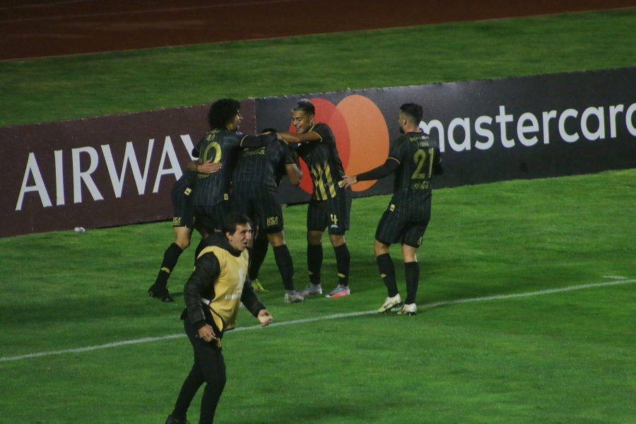 Bolívar 2 -Guaraní 3. Fase de Grupos Libertadores 2020