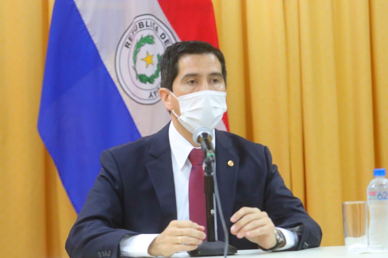 ministro Federico González py tv tw