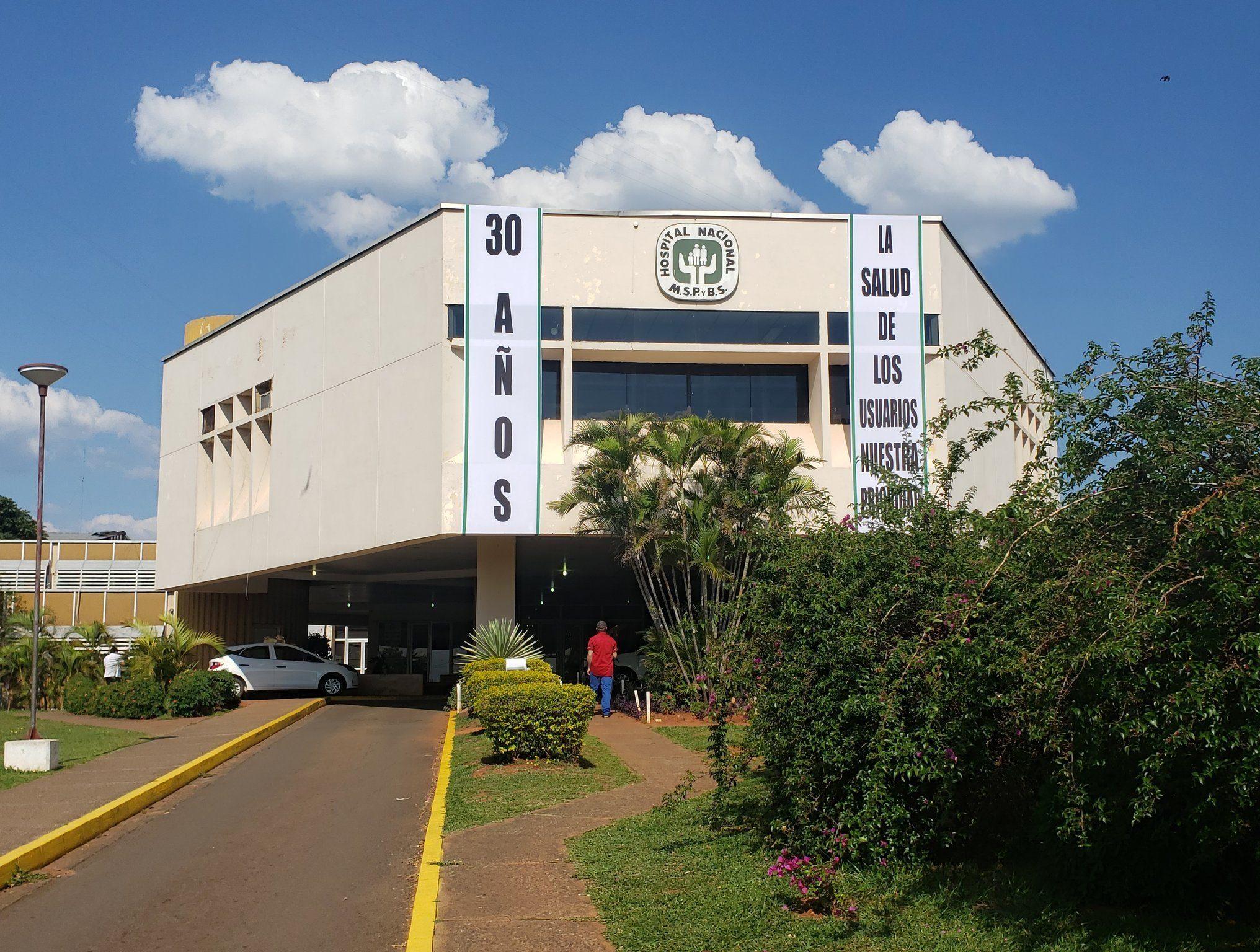 Hospital Nacional de Itaugua Yolanda Gonzlaez TW
