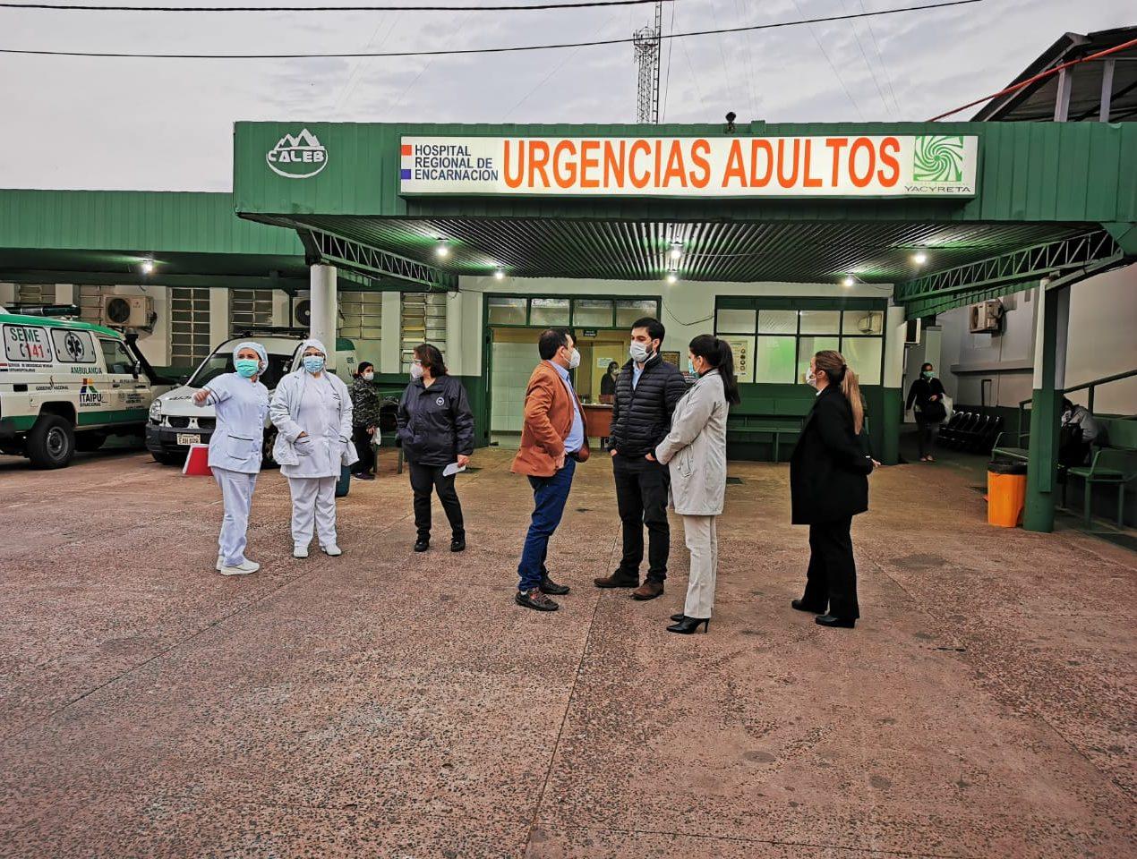 hospital regional encarnacion itapua VII region sanitaria fb