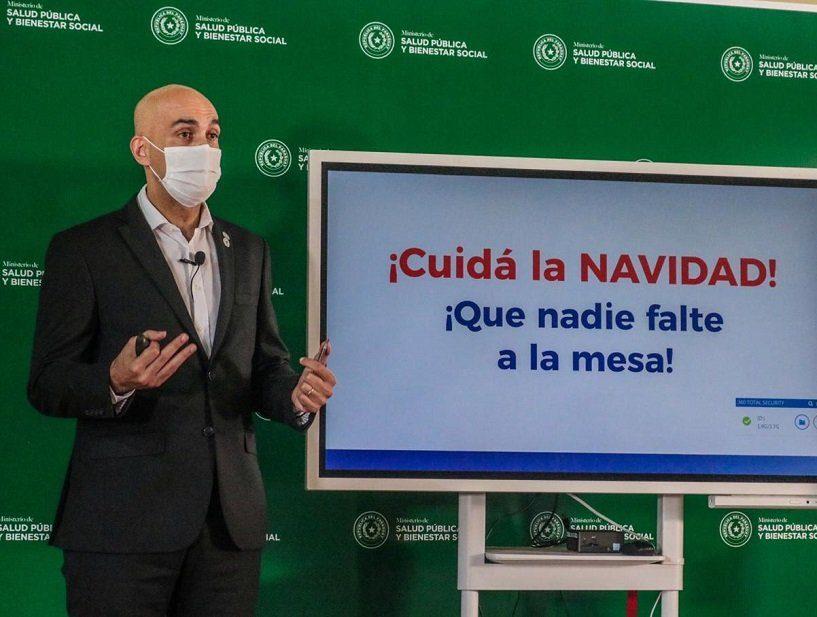 julio mazzoleni medidas anti covid recomendaciones mspbs