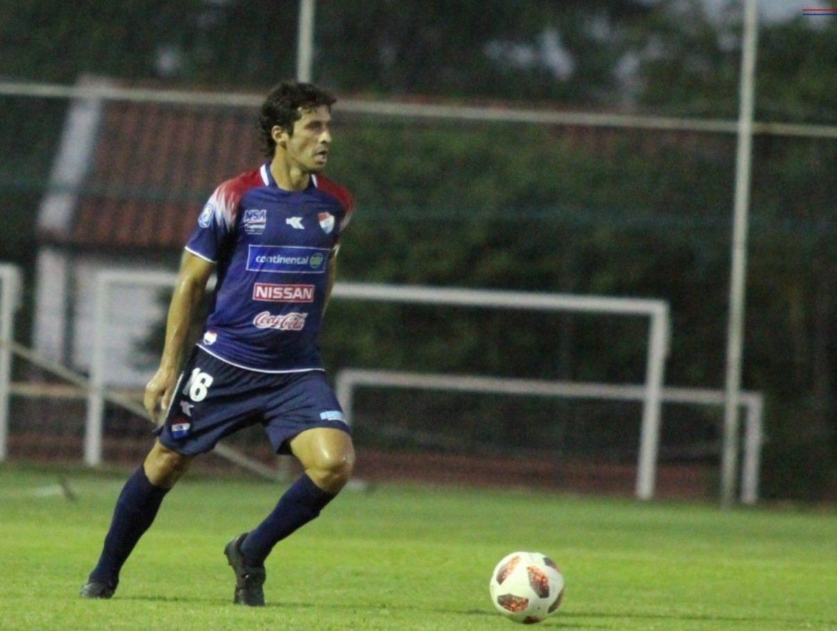Cristian Riveros club Nacional
