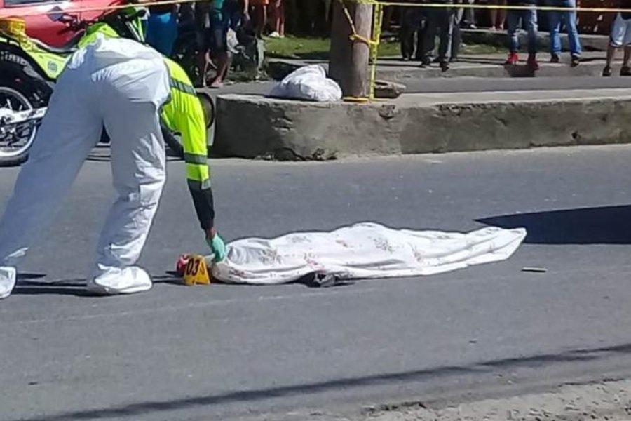 accidente de transito cadaver en bolsa mortuoria 01
