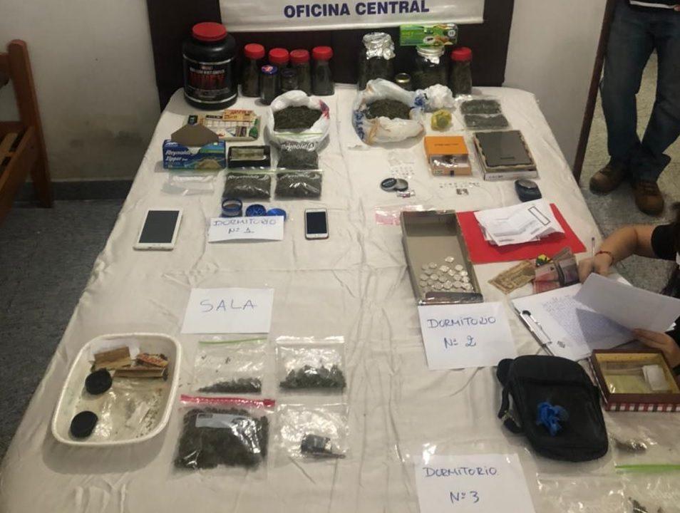 evidencia tusi drogas allanamiento policia nacional 01