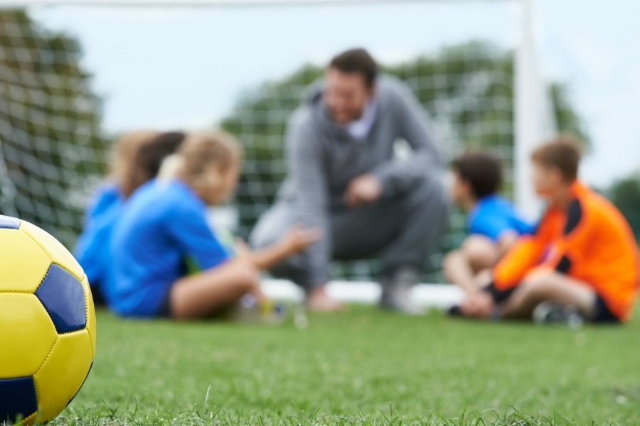 niñas niñas deporte pelota escuela de futbol