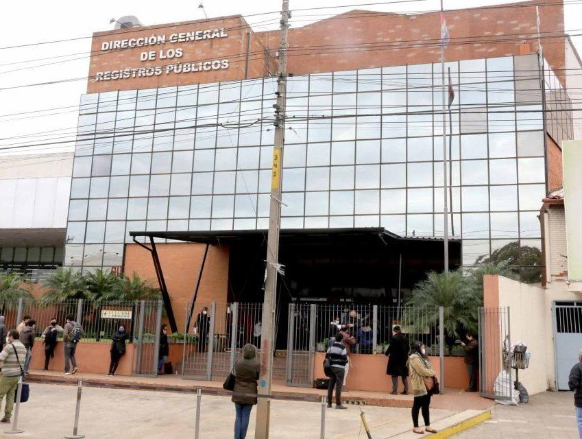 Direccion general de registro publicos csj poder judicial