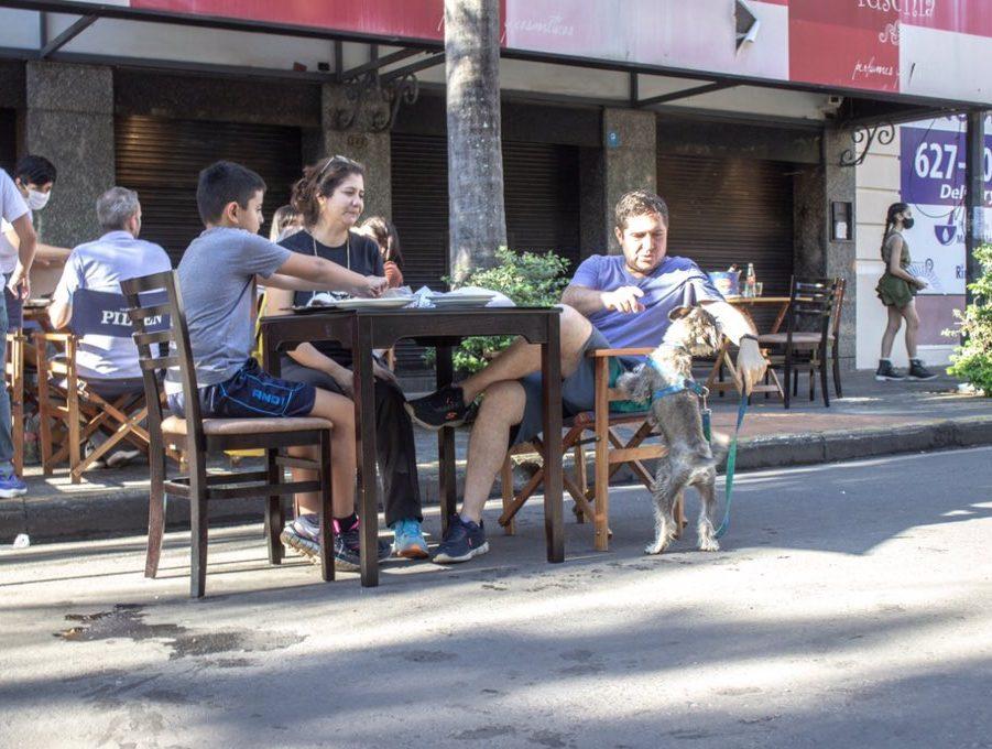 gastronomia calles peatonales covid