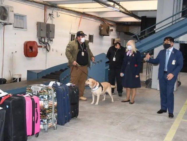 maletas aeropuerto dinac uh
