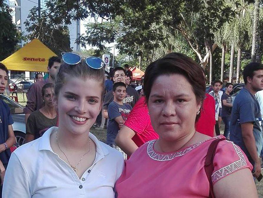 María Silvia Recalde, presentó una demanda de reconocimiento de filiación contra el expresidente Horacio Cartes