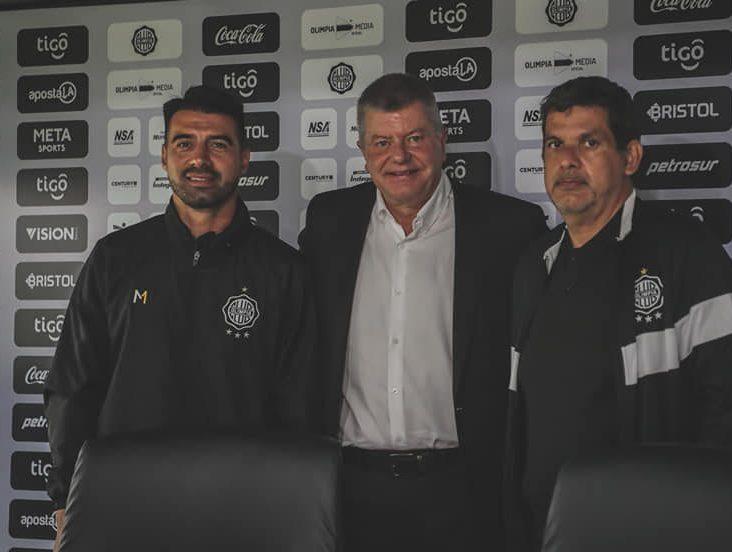 Julio César Cáceres nuevo entrenador del plantel principal de Olimpia con Brunotte 04