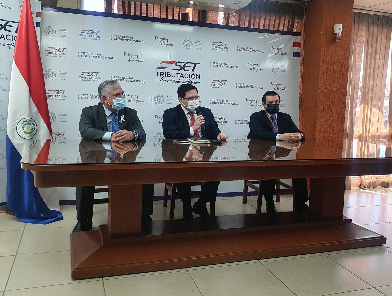 Oscar Orue SET investigación sobre proveedores de municipios